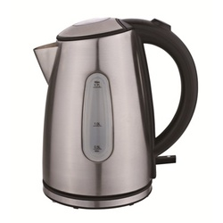 Hotpoint HK317DS 1.7L Upright Cordless Kettle - Stainless steel