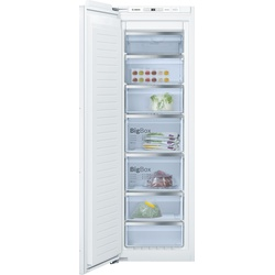 Bosch GIN81AE30G Built In Upright Freezer, 211L 5 Drawer
