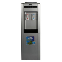 Von Hotpoint HWDZ2010SB Water Dispenser Hot & Normal F/S W/Cabinet - Silver/Black