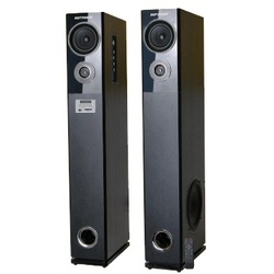 Von HA24020BT/VEA2402ET 2.0 Active Speakers, Tallboy Subwoofer, Bluetooth - 240W