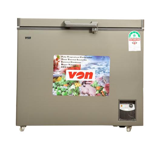 Hotpoint Von Chest Freezer HCFH330SS in Kenya Showcase Freezer, 260L - Grey