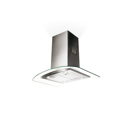 Faber EG8 X/V A90 Tratto Isola Chimney Island Hood - Stainless steel