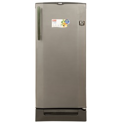 Von HRD-261S/VARS-26DGS Single Door Fridge 210L - Silver