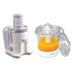 Kenwood Juicer MP135 - Promo Pack (Buy Juicer JE680 White Get Kenwood Citrus Press JE280 FREE) - SAVE 3995/-