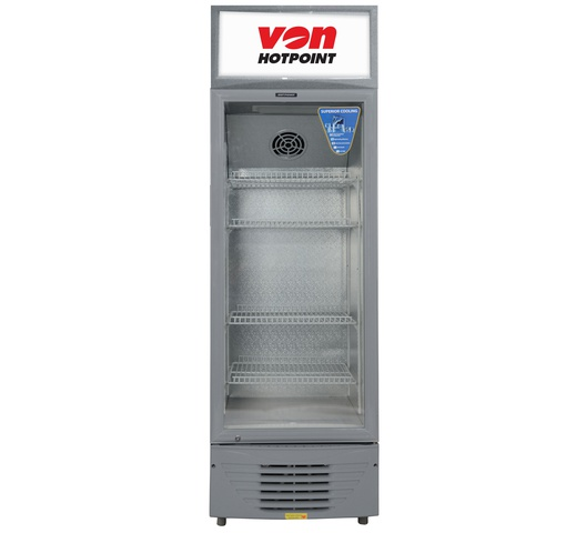 Von Hotpoint showcase chillers HPBC236W in Kenya Vertical Cooler, 226L SHOWCASE chillers and display fridge