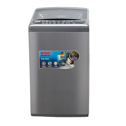 Von VALW-12TSX Top Load Washing Machine,12KG - Stainless Steel