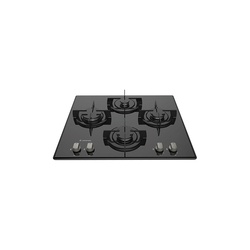 Ariston DD642/A Built In Hob 4 Gas, Enamel Grid, 60CM - Ice