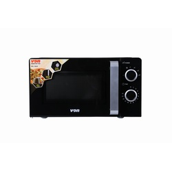VON VAMS-20MGX Microwave Oven, Solo, 20L, Mechanical – Black