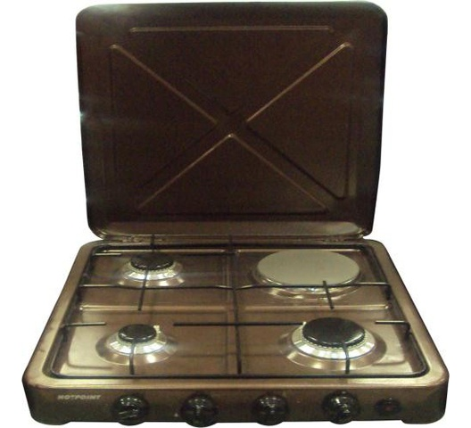 Von Hotpoint cooker O-431.C in Kenya 3 Gas 1 Electric Cooker - Copper