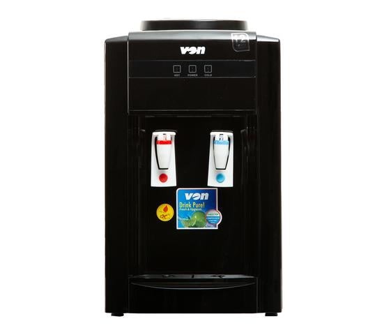 Von hotpoint Water Dispenser VADA1302K in Kenya Table Top Water Dispenser Compressor Cooling - Black