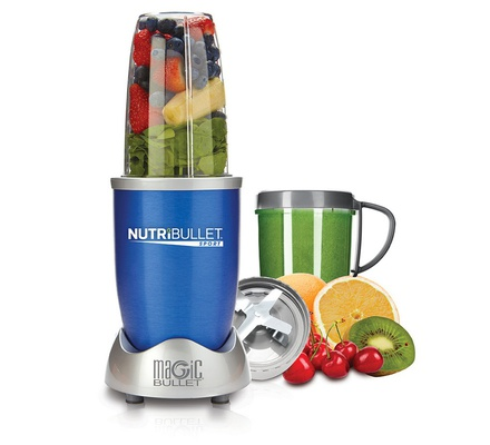 Nutri Bullet NBR-0812B Blue 8 Piece Set