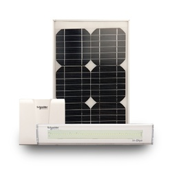 Solar Home Lighting System 2 Lamps ES-AEH-SHS