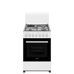 Simfer 5312NEW 3 Gas + 1 Electric Cooker - White