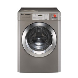 LG FH0C7FD3S Commercial Washing Machine, Front Load, 15KG - Silver