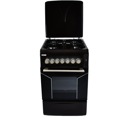 Von F5N40G2.BLK 4 Gas Cooker - Black