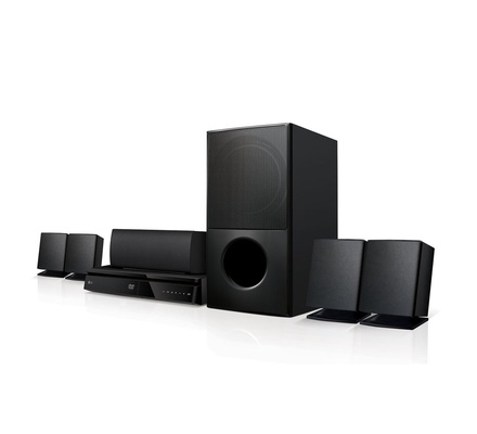 LG LHD627 Home Theatre - 5.1 Channel, 1000W, Satellite, Bluetooth
