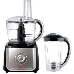 Von VSPF05MCW Food Processor, 700W  - Grey