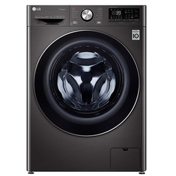 LG F4V9RCP2E Front Load Washer Dryer, 10.5/7KG - Silver