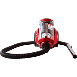 Von VAVC-16DMR Dry Bagless Vacuum Cleaner, 1.6L - Red