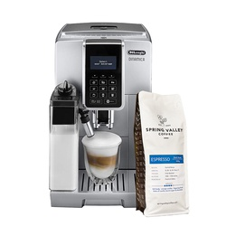 Delonghi ECAM 350.75.S Coffee Bean To Cup Dinamica - Get FREE Spring Valley 500G Espresso