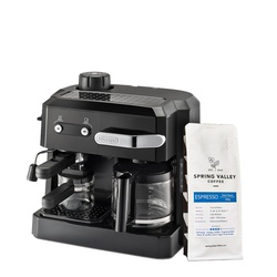 Delonghi BCO320 Combi Coffee Maker - Get FREE Spring Valley 250G Espresso