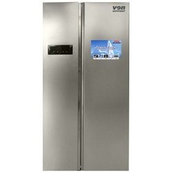 Von Hotpoint HRZ-207S Side By Side Fridge 482L No Frost, LED - Silver