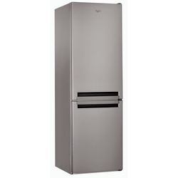 Whirlpool BSNF 8151 OX Bottom Freezer Fridge, 356L, Non Frost, LED - Silver
