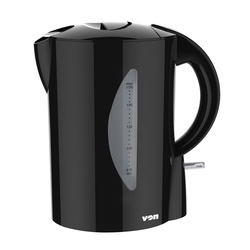 Von VSKC17BVK 1.7L Corded Kettle 2200W - Black