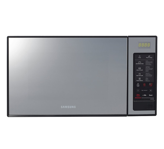 Samsung GE0103MB/XSG Microwave Oven Grill, 28L - Mirror Black
