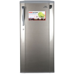 Von Hotpoint HRD-231S Single Door Fridge 190L - Silver