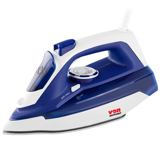 Hotpoint iron box HSI2223SB in Kenya VON Steam Iron Ceramic Plate, 2200W
