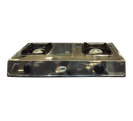 Von Hotpoint HPTT2012S Table Top Two Burner - Stainless Steel