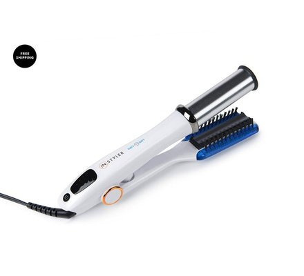 Instyler IS2W2D-32BLME Max Wet to Dry Rotating Iron