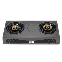 Von VAC7K202T Table Top 2 Brass Burner - Heavy Duty