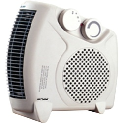 Hotpoint HFH202UL 2KW Fan Heater - White