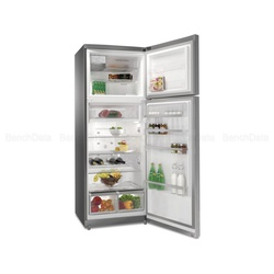 Whirlpool T TNF 9322 OX Top Mount Freezer Fridge 456L - Silver