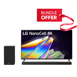 LG TV NanoCell 65NANO95VNA 65'' + SN8Y Soundbar Bundle