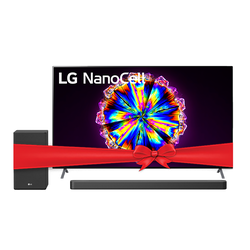LG TV Nano Cell 55NANO90VNA 55'' + SN8Y Sound bar Bundle