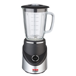 Von VSBT05MNK Blender, 1.5L Glass Jar, 500W - Black