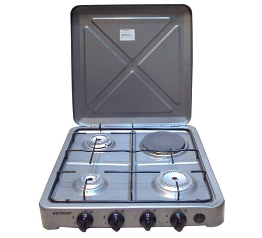 Von Hotpoint Cooker O-431.S in Kenya 3 Gas 1 Electric Cooker - Silver