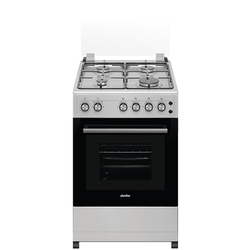 Simfer 5402SGRS 4 Gas Cooker - Silver