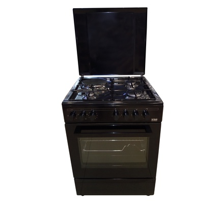 VON 7312NEB Cooker 3 Gas +1 Electric 60CM - Black