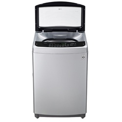 LG T1666NEFTF Top Loader Washing Machine, 16KG - Silver