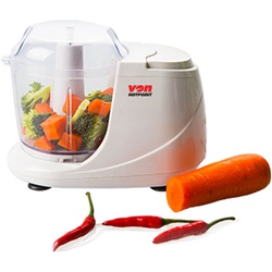 Von VSCC02BNW Food Chopper, 160W - White