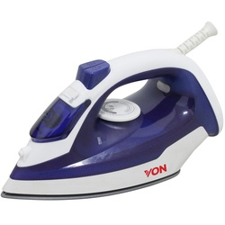 Von HSI2223SB/VSIS22MSL Steam Iron Ceramic Plate - 2200W