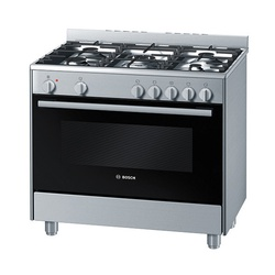 Bosch Cooker HSB734355Z 5Gas 90CM Electric Oven - Silver