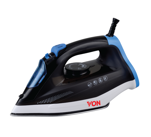 Hotpoint iron box HSI4223SK in Kenya VON Steam Iron Ceramic Plate, 2200W