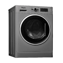 Whirlpool Washer Dryer WWDC 11716 S Front Load 11/7KG Silver + FREE 2KG ARIEL DETERGENT & 1L DOWNY SOFTENER