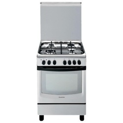 Ariston CG64S G1/A6GG1F X 4 Gas Cooker - Stainless steel