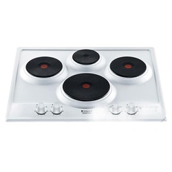 Ariston PC 604 Built In Hob - 4 Electric Plates - White